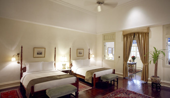 the raffles singapour courtyard suite