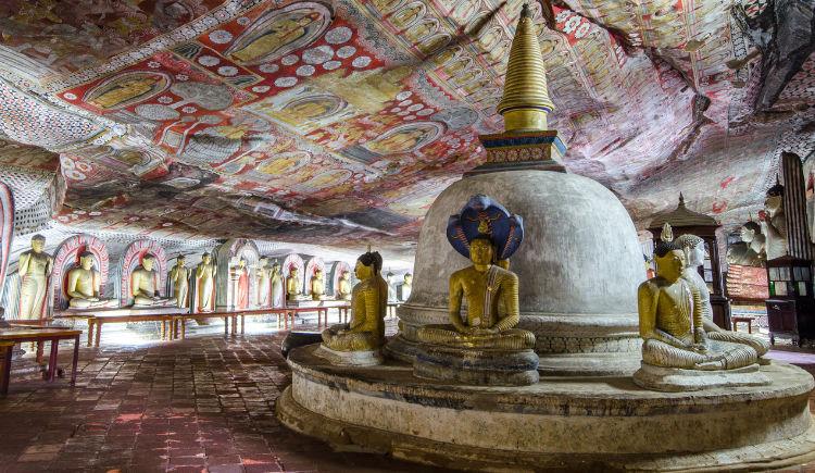 Dambulla Cave Maharaja Viharaya