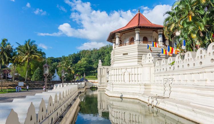 Kandy temple de la Dent de Bouddha