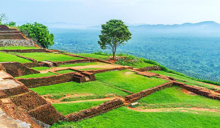 forteresse rocheuse de Sigiriya