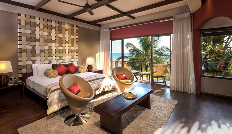 Beach Villa Master bedroom