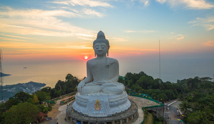 Bouddha blanc de Phuket