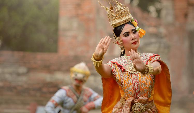 Thailande danses