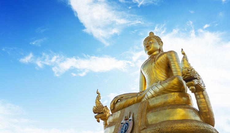 Bouddha golden