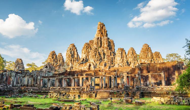 Temple Bayon Angkor Thom