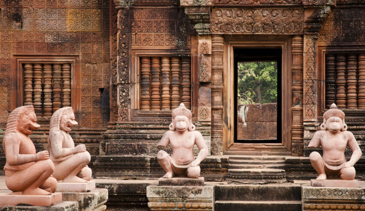Tample Banteay Srei Cambodge