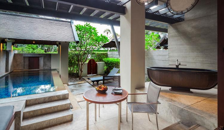 Pool suite exterieur