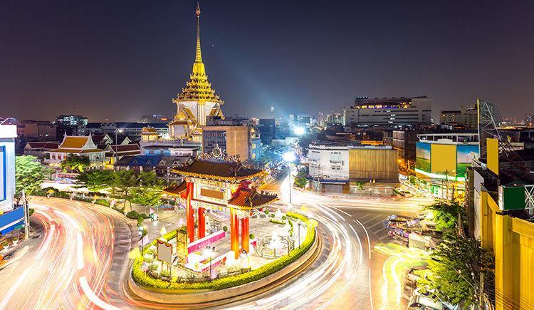 Qartier Chinois de Bangkok