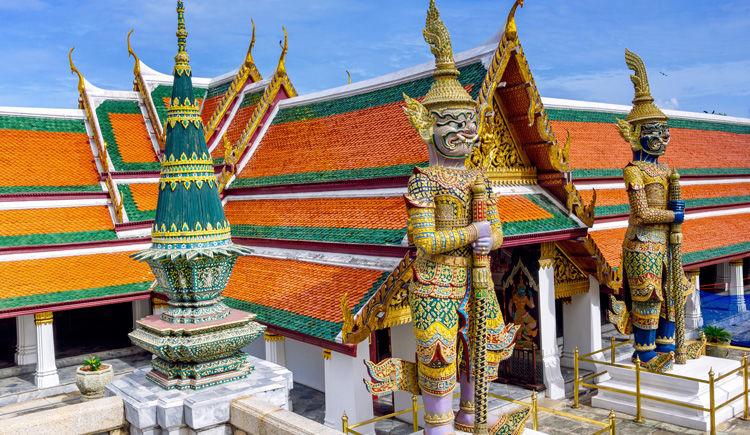 gardiens des demons du temple Wat Phra Keo