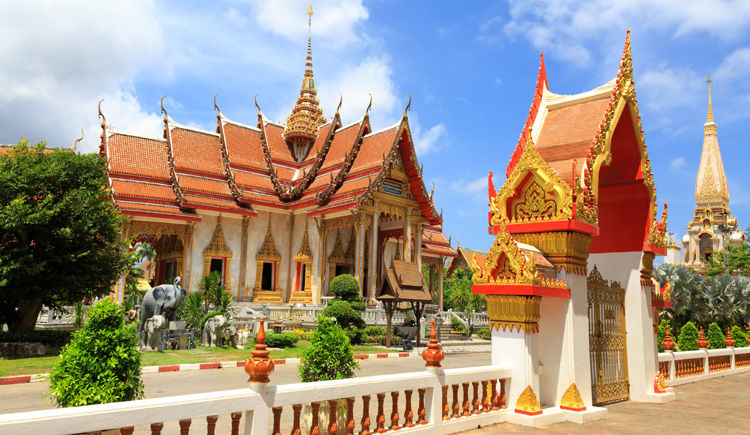 temple Wat Chalong a Phuket