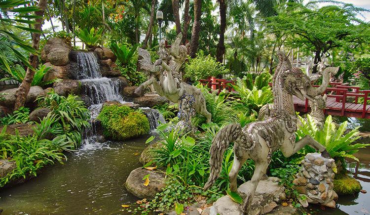 jardin du musee Erawan