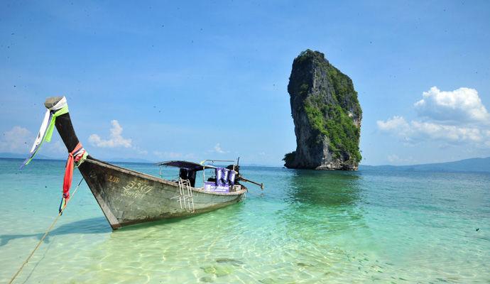ile de Poda au sud de la Thailande