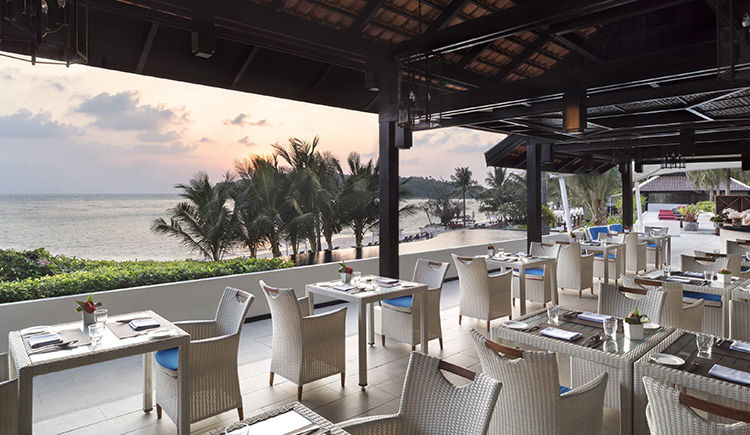 Kappa Club Anantara Lawara restaurant Ocean Kiss