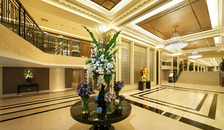 Mandarin Hotel Managed hall
