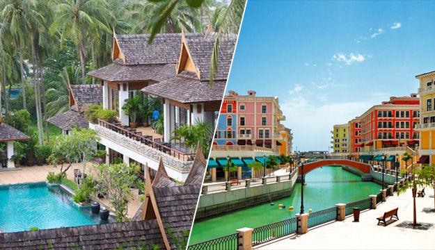 Phuket / Qatar - Ayara Hilltops & Escapade Doha 4 *