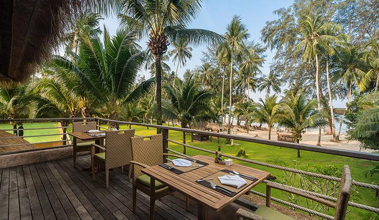 restaurant Beach Front terrasse
