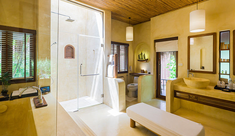 Deluxe Pool Villa salle de bain