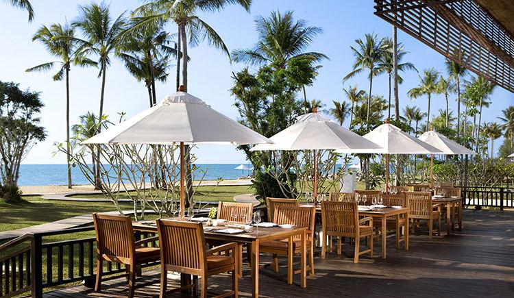 terrasse restaurant Waterfront