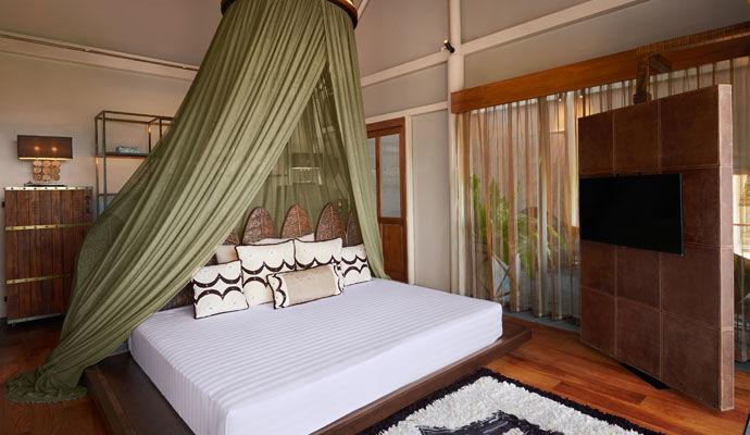 Tent Pool Villa chambre