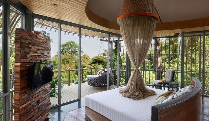 Tree Pool House chambre