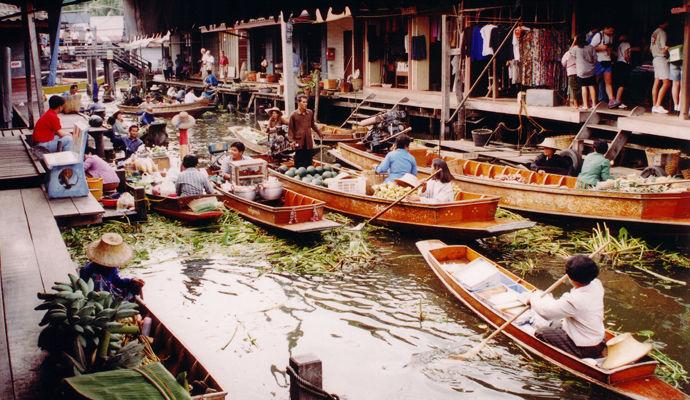 marche flottant bangkok