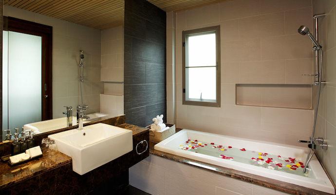 suite tropicana salle de bains