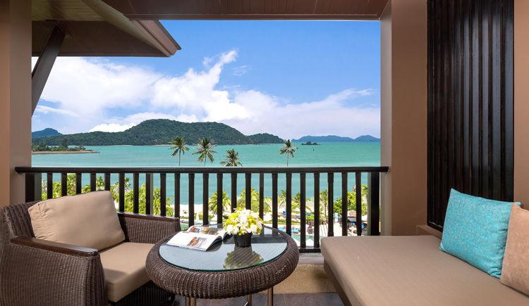 balcon chambre deluxe vue mer