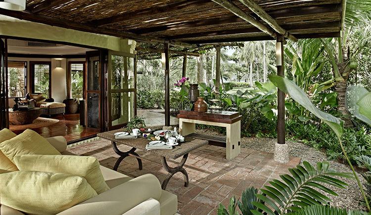 Pavillon terrasse