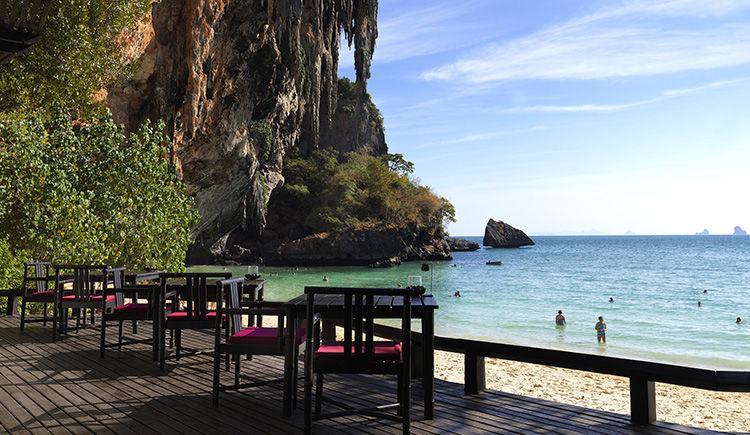 restaurant Kura Phranang terrasse