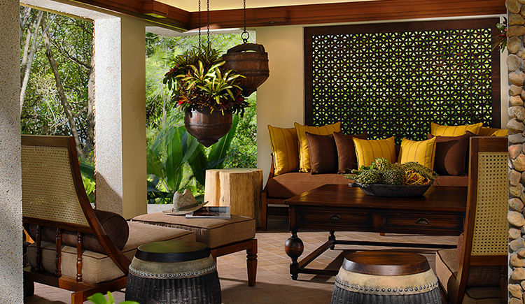 Phranang Villa salon exterieur