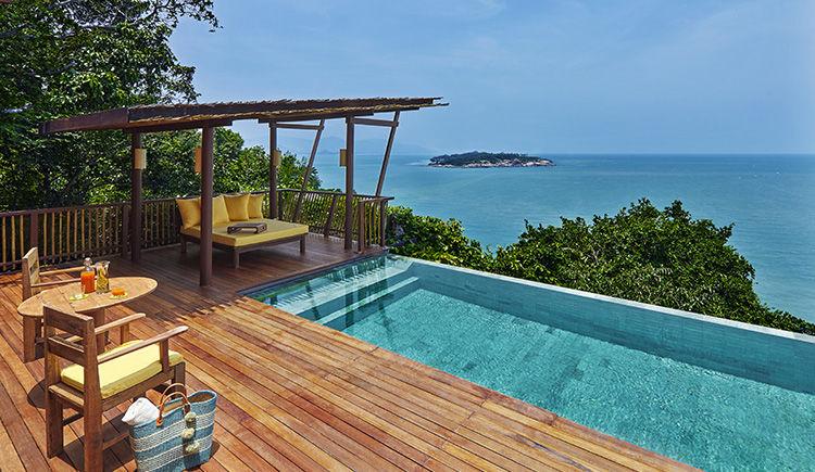 Ocean Pool Villa terrasse