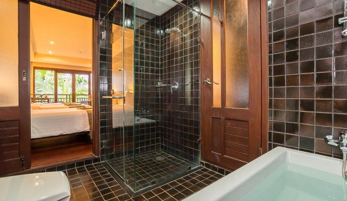 salle de bains chalet