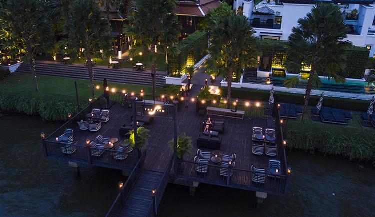The Siam terrasse