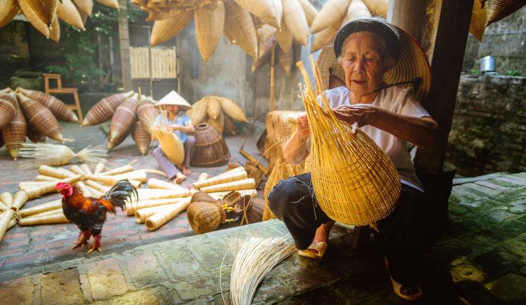 Artisant vietnamien