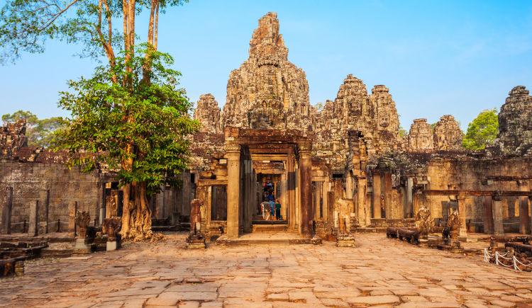 Siem Reap Temple Bayon