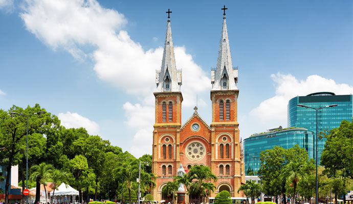 cathedrale saigon