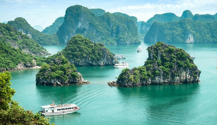 la baie Halong