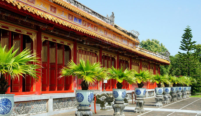 citadelle imperiale de Hue