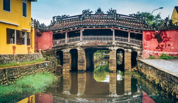 le pont japonais a Hanoi