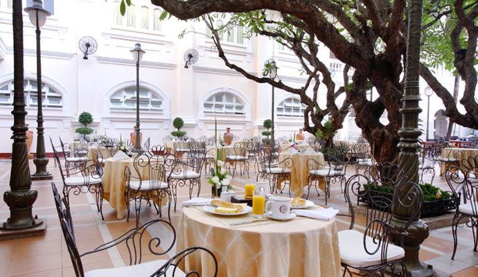 restaurant continental hotel saigon