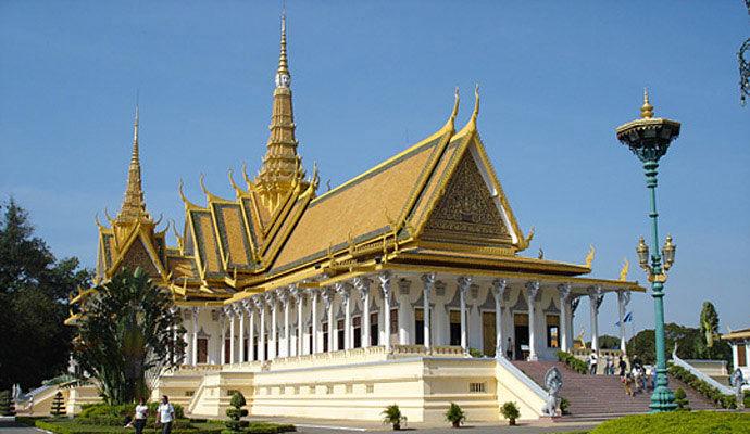 palais royal a phnom penh