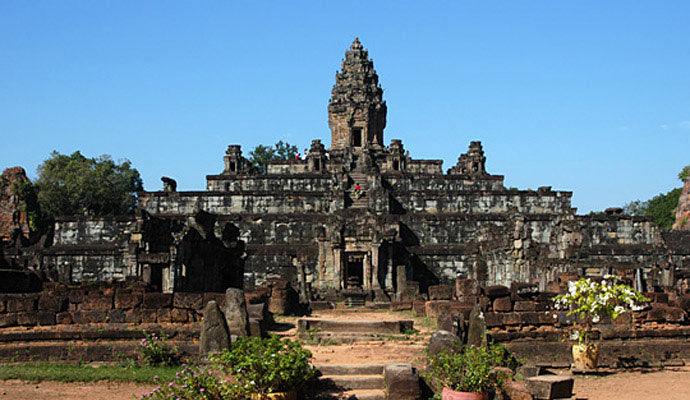 temple bakong a siem reap