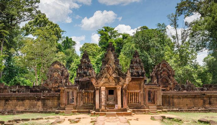 temple banteay srei a siem reap