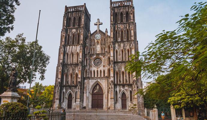 cathedrale de hanoi
