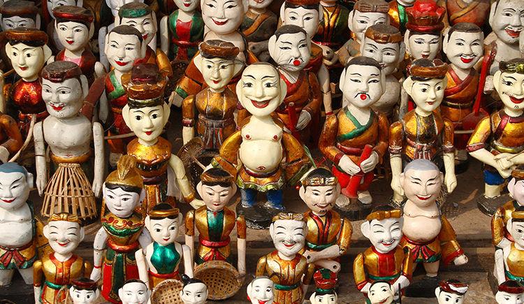 Marionnettes sur l eau