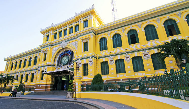 Bureau de poste Ho chi Minh