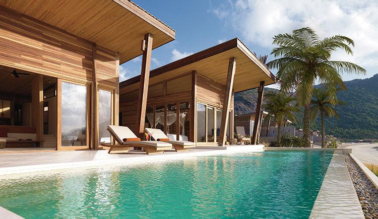 Villa avec piscine vue Ocean