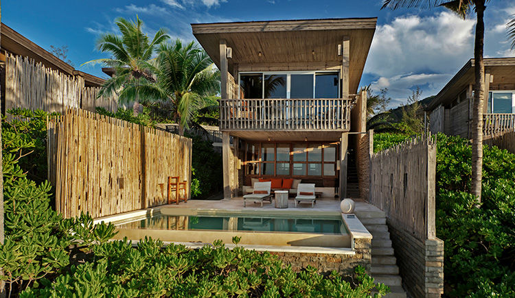 Villa duplex avec piscine vue mer