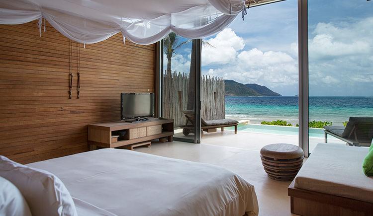chambre Villa face Ocean