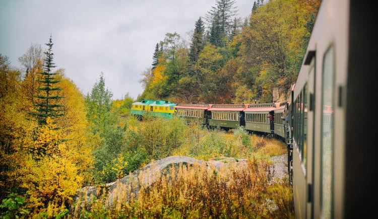 Train White Pass Yukon